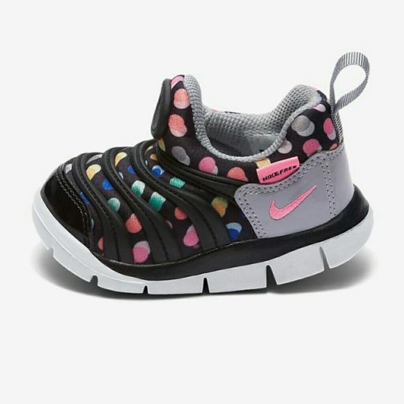 6dd8a2fd2c17 Nike Dynamo Free Print BabyToddler Lifestyle Shoes